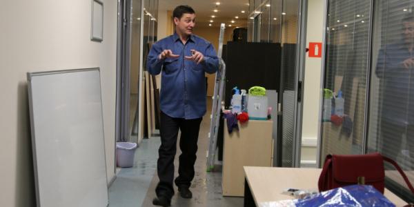 Переезд в новый офис УК «Данцер»